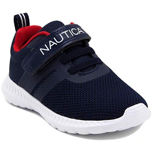Nautica Kids Boys Fashion Sneaker Athletic Running Shoe-Towhee-Navy-10 (Nautica Padding)