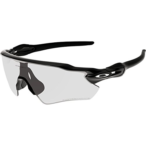 Oakley Radar Sunglasses Black/Clear to - Clear Oakley Radar