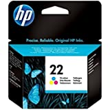 HP 22 - Print cartridge - 1 x colour (cyan, magenta, yellow) - 138 pages