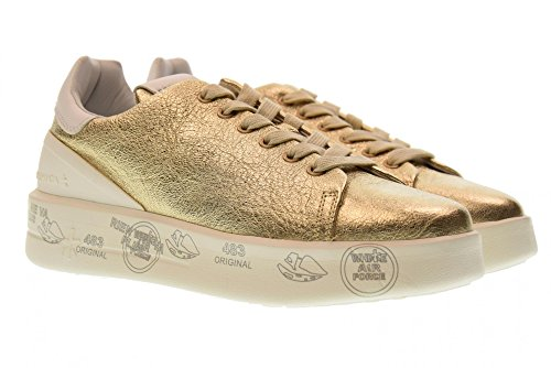 De Belle Plataforma Deporte Las Oro Zapatillas Zapatos 3020 Mujeres Bajas Premiata xpA4w4E