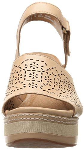 Wedge Graze Zia Nude Women's Clarks Sandal WFzqf8UwWx