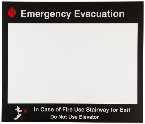 Brady Emergency Evacuation Map Holder - 102856 ()