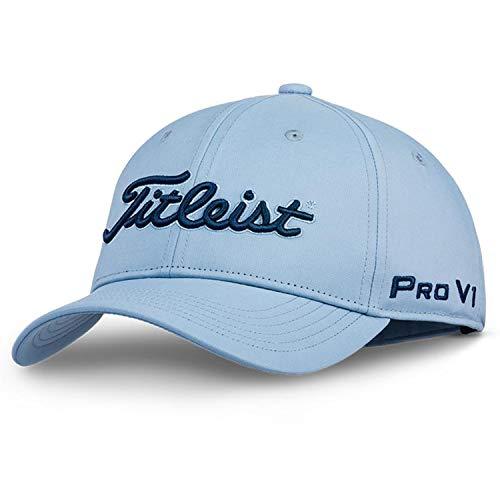 (Titleist Junior Golf Hats (Sports Mesh, Tour Performance, Surf Stripe, Performance Visor) (Junior Tour Performance, Denim&Navy))