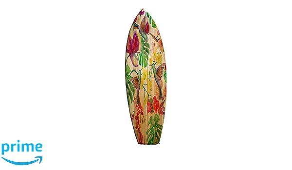 Cuzzco SF133394309 - Cuadro de Madera en Forma de Tabla de Surf, 35 x 120: Amazon.es: Hogar