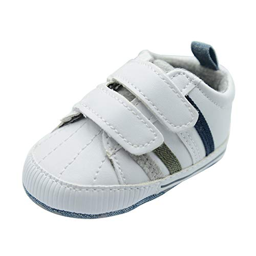 SHOFORT Baby Sneakers Toddler Infant Girls Soft Walker Shoes ()