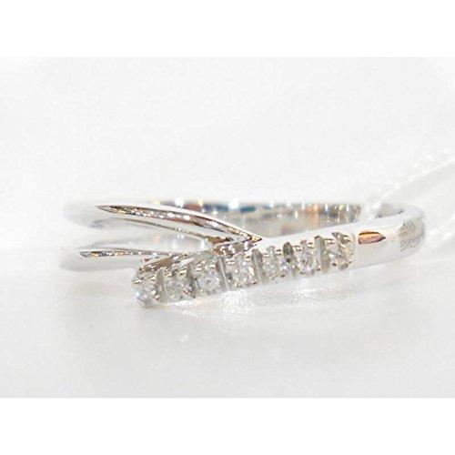 Bague davite et Delucchi Femme aa9288or blanc diamant