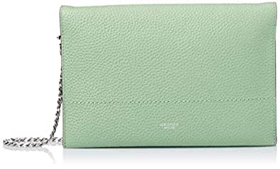 Oroton Women's Avalon Fold Over Chain Crossbody, Fern Green, One Size