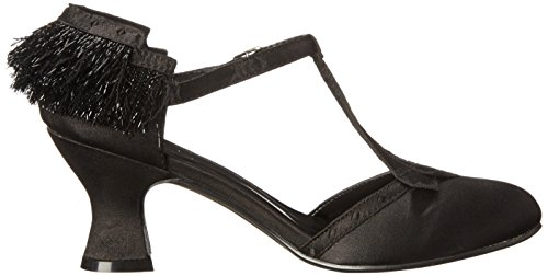 Ellie Shoes Womens 254 Fringe Dress Pump Black