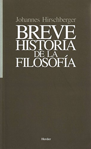 Breve Historia De La Filosofia Spanish Edition Epub