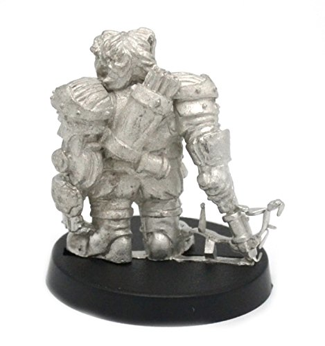 Stonehaven Dwarf Mechanist Miniature Figure (for 28mm Scale Table Top War Games) - Made in USA 4