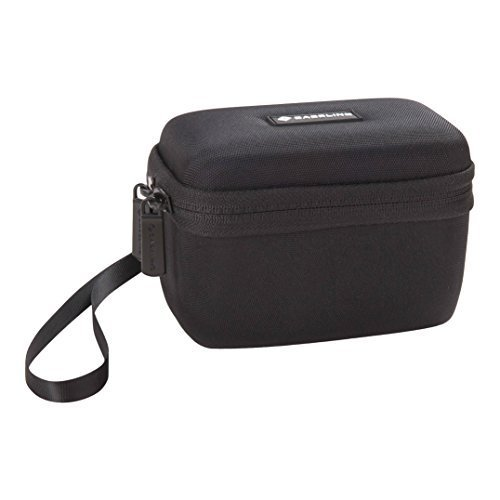Caseling Hard Case for EC Technology 5w & GearIt SoundCube & Turcom 5W & Bolse 5W. Wireless Bluetooth Portable Speakers. - Fits the Cables