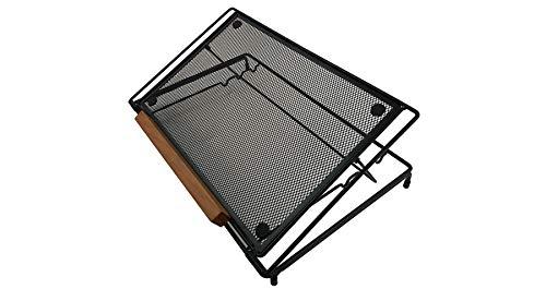 Posidesk POSI211LPBK Adjustable Folding Laptop Stand 3 Angle Positions Mesh Back Heat Ventilation by Posidesk (Image #4)