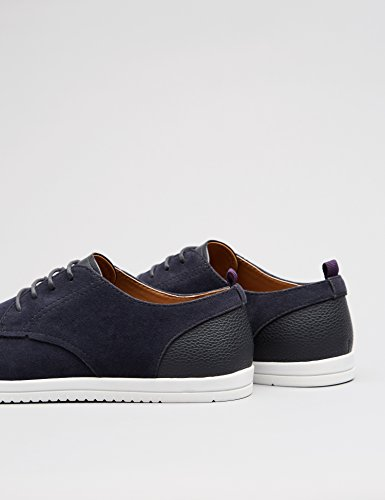 official sale online FIND Men's Low-Top Sneakers in Suede Look Sports Derby Blue (Navy) release dates countdown package sale online discount supply wholesale online KAcvvrJpv2