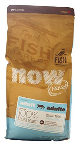Now Fresh Grain Free Fish Adult Recipe Cat Food - 8lb by Now Fresh by Now Fresh