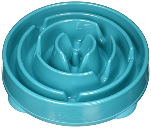 Feeder Bowl Food - Dog Games Outward Hound Fun Feeder Drop Teal