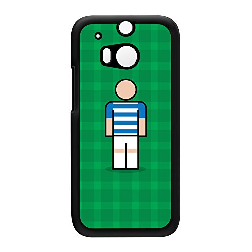 QPR Black Hard Plastic Case for HTC? One M8 by Blunt Football + FREE Crystal Clear Screen Protector