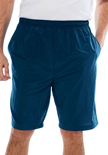 KingSize Men's Big & Tall Classic Swim Trunks, Navy Tall-3Xl ()