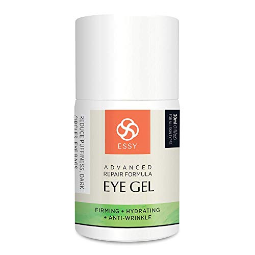 4140cMicdhL - Eye Gel for Dark Circles, Puffiness, Wrinkles and Bags,Fine Lines. - The Most Effective Anti-Aging Eye Gel Under and around Eyes- 1 fl OZ