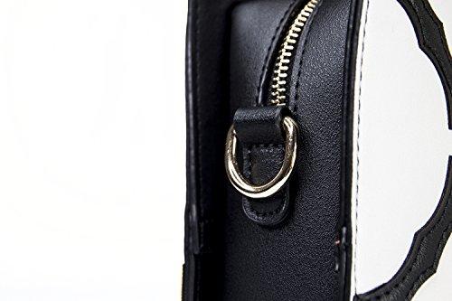 uso forma bolso doble embrague original cuadrado ST1704 bolso en mujeres Blanco Shitao cara de bolso de de hombro de XnwS481Sx
