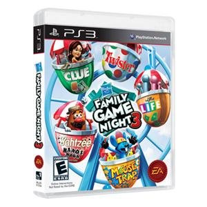 NEW Hasbro Family Game Night 3 PS3 (Videogame Software) (Hasbro Family Game Night 3 compare prices)