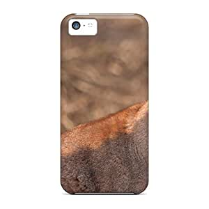 Protective Cases With Fashion Design For Iphone 5c (caracal)