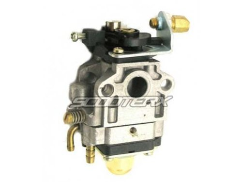 SCOOTERX 10mm Carburetor for 33cc and 36cc Gas Scooters, Pocket Bikes, Go Karts, and Mini Choppers, Go Ped