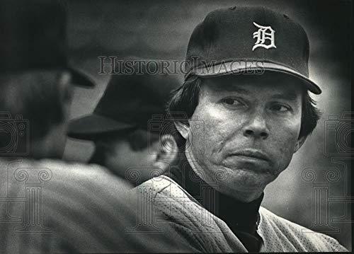 Vintage Photos 1988 Press Photo Detroit Tigers Baseball Player, Darrell Evans - mjt06719