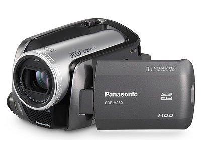 Panasonic SDR-H280 SD/Disco Duro videocámara híbrida (30 GB, 60 GB ...