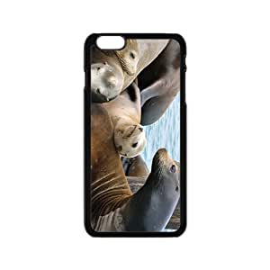 Sea Lion Baby Hight Quality Plastic Case for Iphone 6 by Maris's Diary