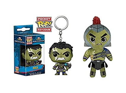 2 unidades de Funko POP. Llavero con figura de Marvel Thor ...