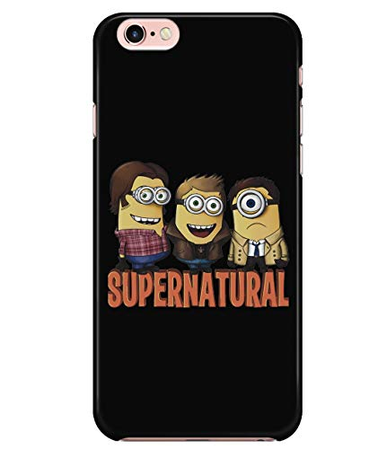 iPhone 7/7s/8 Case, Supernatural Winchester Case for Apple iPhone 7/7s/8, Team Minchester Minion Supernatural iPhone Case (iPhone 7/7s/8 Case - Black)