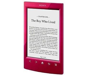 SONY Libro electrónico PRS-T2 - rojo con Oferta Harry Potter + ...
