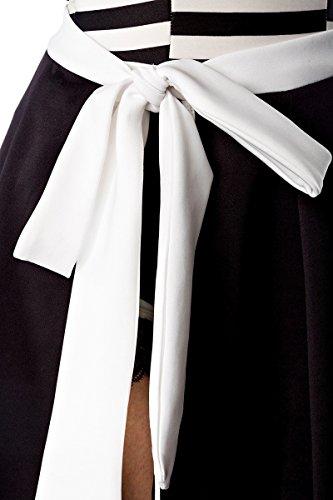 belsira Falda con fijaciones variable–Gran schwingend–Capucha Puños y cintura ribete–a50035 schwarz (Sw 16)