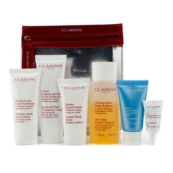 Price comparison product image Clarins Take-Off Essentials Travel Exclusive Set