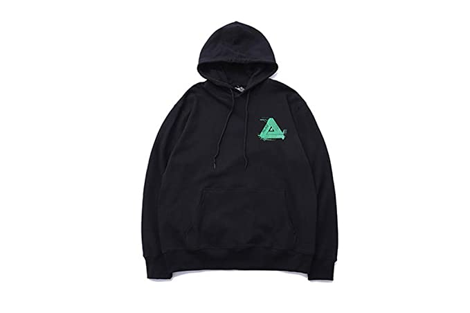 Palace Hoodie Triangle|Palace Back Triangle Pattern Printing Cotton Loose Hooded Sweater Men Women: Amazon.es: Ropa y accesorios