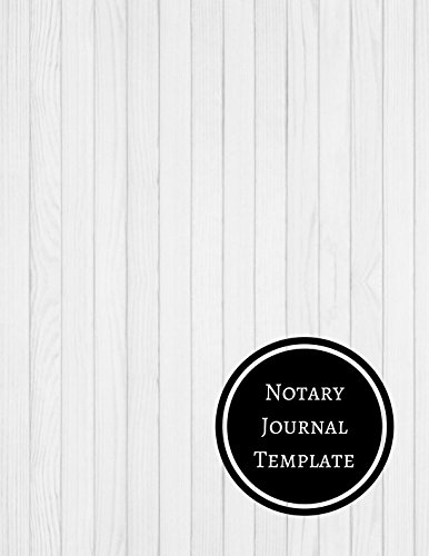 Notary Journal Template Notary Log Journals For All