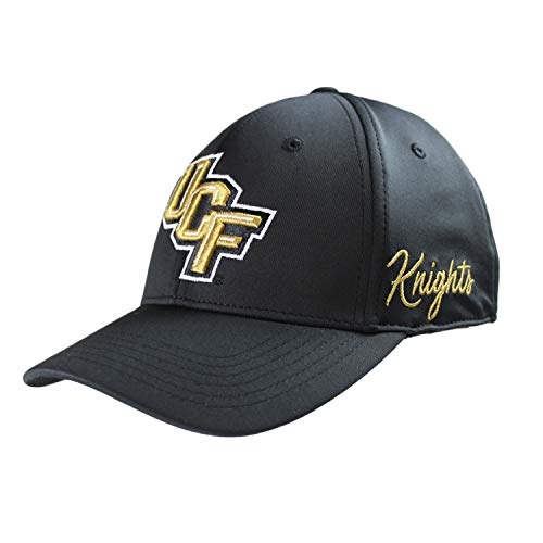Gear Central Golf Florida - Top of the World Central Florida Golden Knights Men's Fitted Hat Icon, Black, One Fit