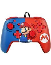 PDP Nintendo Switch Faceoff Deluxe+ Audio bekabelde controller Mario (Nintendo Switch)