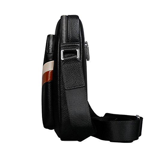 bolsa correa ajustable hombro Negro cartera grande hombre Padieoe de Casual Bolso de zaqAwEY