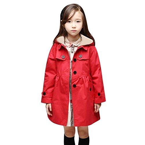 Diamondo Girls Coats Kids Windbreaker Outerwear Jackets (...