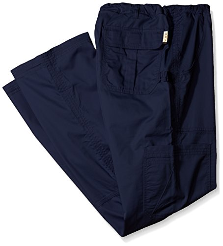 Koi Mens Big And Tall James Elastic Scrub Pants With Zip Fly And Drawstring Waist  Navy  Large Tall