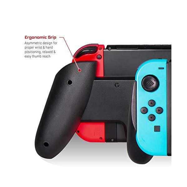 Satisfye - ZenGrip Pro, a Switch Grip Compatible with Nintendo Switch - Comfortable & Ergonomic Grip, Joy Con & Switch… 4