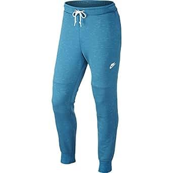 Nike Men's Tech Fleece Cuffed Pants Light Blue Lacquer Medium