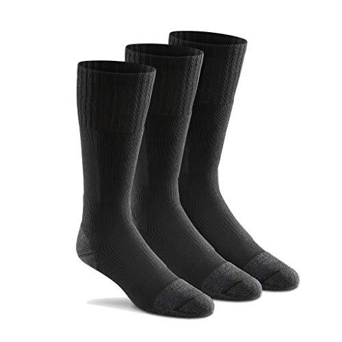 - Fox River Men's Wick Dry Maximum Mid Calf Military Sock, 3 Pack (Black, Large)