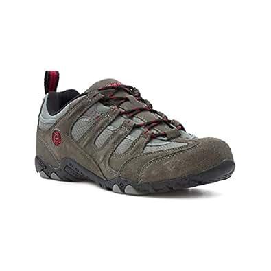 Hi-Tec - Zapato urbano acordonado, gris carbón, para hombre Hi-Tec - Talla 7 UK / 40.5 EU - Gris
