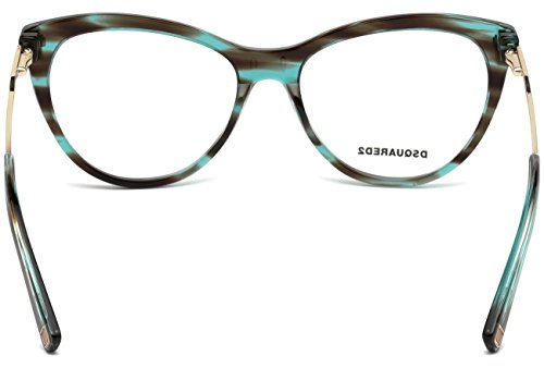 DSquared2 DQ5195 C54 STRIPED TURQUOISE