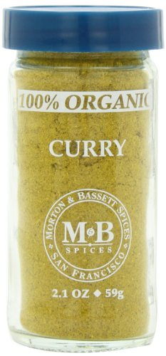 Morton & Basset Spices, Organic Curry Powder, 2.1 Ounce (Pack of - Organic Extract 100% Hazelnut