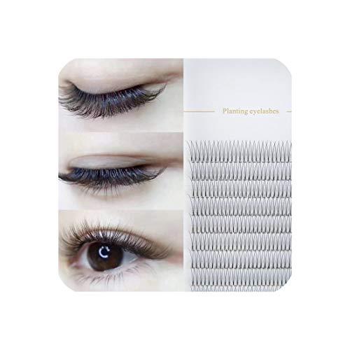 Natural Soft False Eyelash Mink False Eyelashes Hand Made Mink Premium Soft Natural Eyelashes Premade Fan Eyelash ()