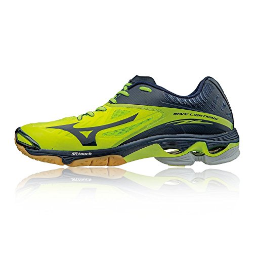 Mizuno Men Wave Lightning Z2 Volleyball Shoes Blue