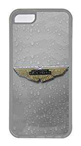 iPhone 5C Case, iPhone 5C Cases - Scratch Resistant Crystal Clear Case for iPhone 5C Aston Martin Car Logo 5 Thinnest Ultra Flexible Soft Back Case for iPhone 5C
